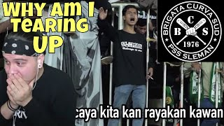 Video WHY AM I TEARING UP ?!?! Brigada Curva Sud | Sampai Kau Bisa | Ultras Sleman [REACTION] MP3, 3GP, MP4, WEBM, AVI, FLV Maret 2018