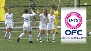 OFC TV Production - Copyright OFC TV © July 2017. New Zealand have beaten New Caledonia 12-0 on Match Day 3 of the OFC...
