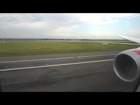 Kenya Airways B787-800 leaving Paris CDG
