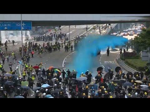 Χονγκ Κοννγκ: Ζήτησαν παρέμβαση του Λονδίνου οι διαδηλωτές…