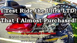 4. I Test Ride the Harley Ultra Limited I Almost Purchased! | TestRides
