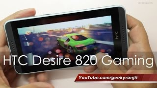 HTC Desire 820 Gaming Review&Does It Heat Up?