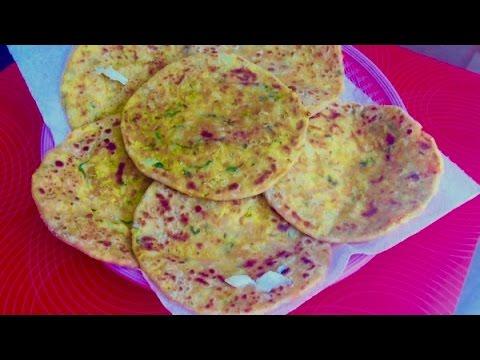 Stuffed Mix Vegetable Paratha | Bread Video Recipe | Bhavna's Kichen