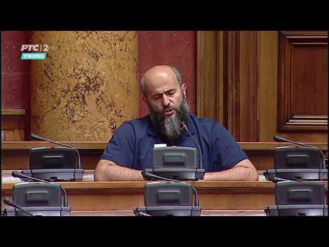 Obraćanje narodnog poslanika dr. Muamera Zukorlića u Skupštini R. Srbije