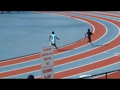 Boys 9 and 10 year olds 4 x 100m Relay Miramar Optimist Track Club Invitational Meet 4-9-2016