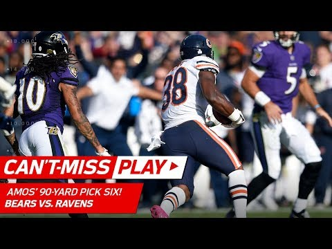 Video: Adrian Amos' Amazing Pick 6 Off Joe Flacco! | Can't-Miss Play | NFL Wk 6 Highlights