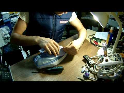 Ремонт утюга поларис своими руками видео