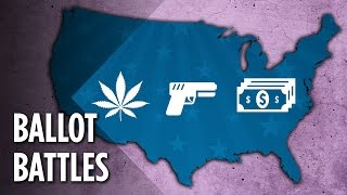 Weed (CA) United States  City new picture : Weed, Guns & Minimum Wage: What Else Is The U.S. Voting On?