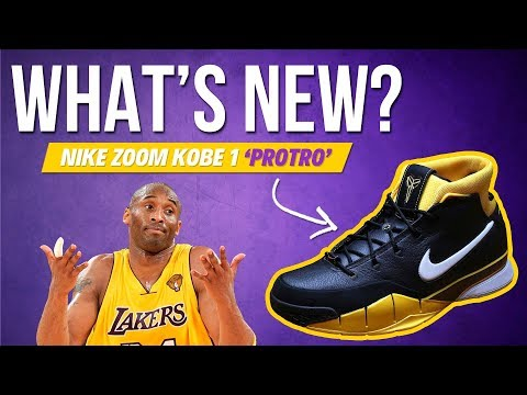 WHAT'S NEW IN THE NIKE ZOOM KOBE 1 PROTRO?   Release Date
