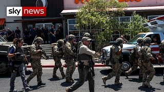 At least 20 killed in US shooting in Texas