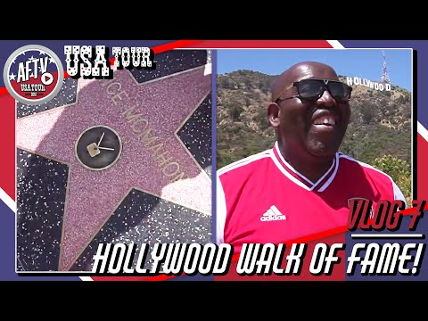 Robbie & Troopz Do The Hollywood Walk of Fame! | AFTV Vlog in LA Day 7