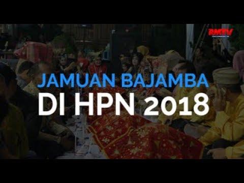 Jamuan Bajamba Di HPN 2018