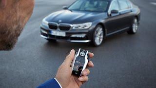 Tak parkuje nowe BMW 7