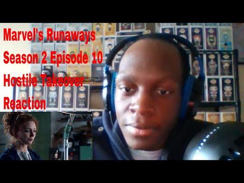 Marvel's Runaways Season 2 Episode 10 Hostile Takeover Reaction