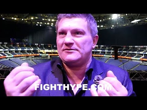 RICKY HATTON ADVISES ANTHONY JOSHUA TO FIGHT IN LAS VEGAS: \