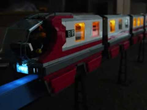 Lego Monorail Night Run