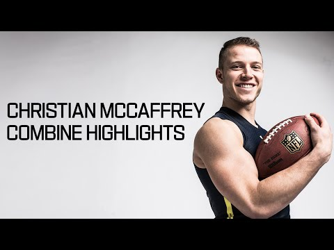 Christian McCaffrey (Stanford, RB) | 2017 NFL Combine Highlights - Thời lượng: 3:59.