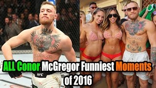 Video Conor McGregor FUNNIEST Moments MP3, 3GP, MP4, WEBM, AVI, FLV Februari 2019