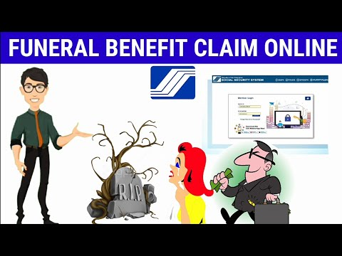 Paano mag file ng Funeral Benefit Claim Online sa SSS | How to File Funeral Benefit Claim Online