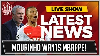Jose Mourinho wants two more Manchester United transfer and Ivan Perisic and Kylian Mbappe still top the list. Get the latest Man Utd transfer news now on Th...