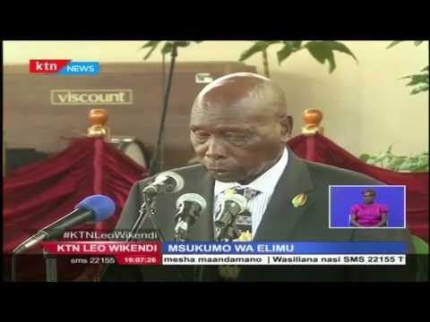 Rais mstaafu Daniel Arap Moi amewahimiza wakenya kuendeleza masomo yao na kuinua uchumi wa Kenya