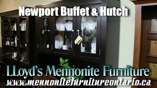 Mennonite Newport Buffet and Hutch