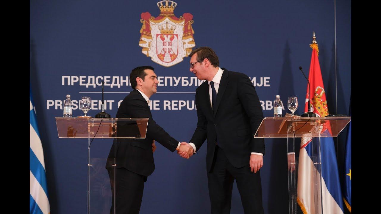Συνέντευξη Τύπου μετά την ολοκλήρωση των εργασιών του ΑΣΣ Ελλάδας-Σερβίας