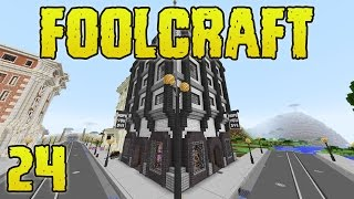 FoolCraft Modded Minecraft 24 Open For Business!