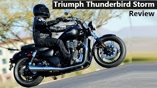 7. Triumph Thunderbird Storm | REVIEW & Features | Top Speed