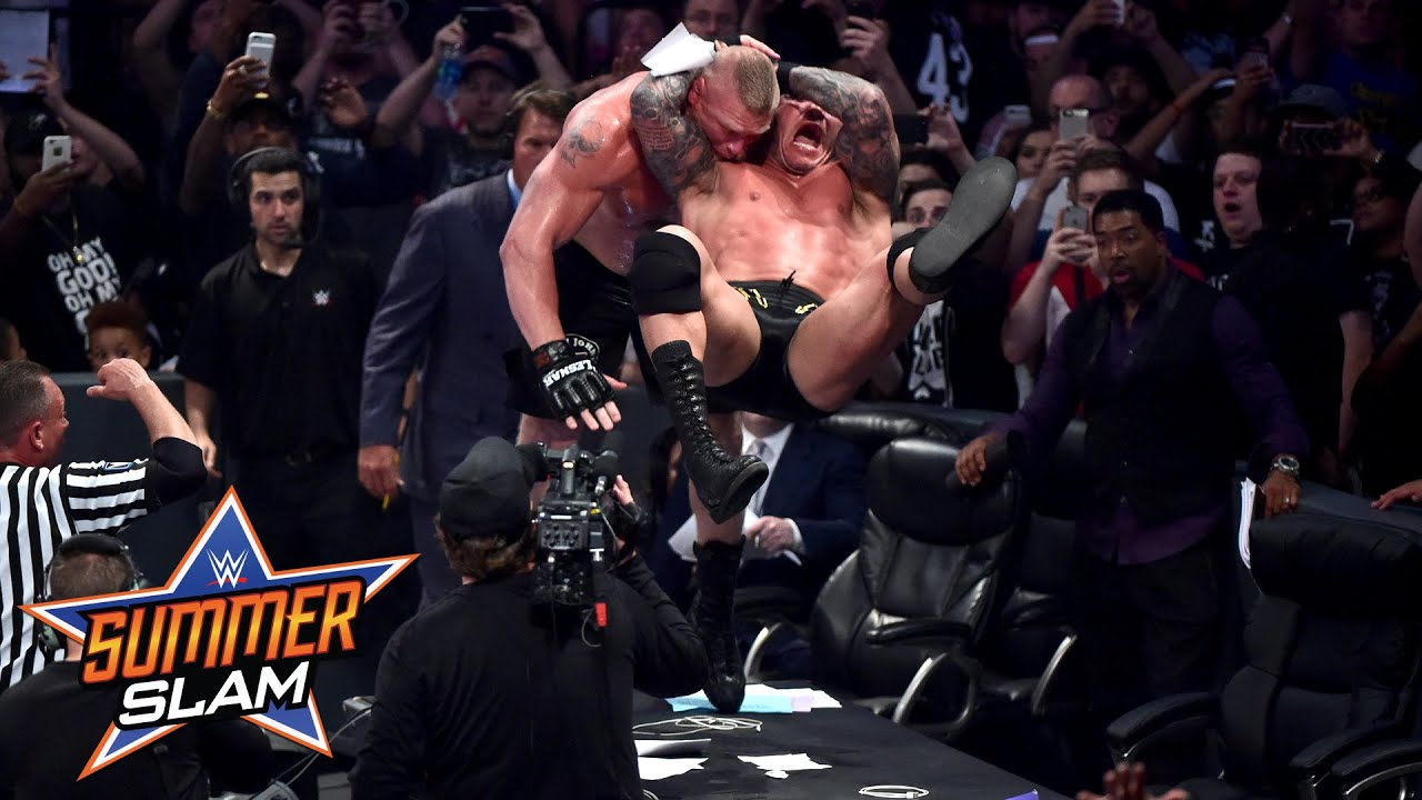 Randy Orton vs. Brock Lesnar: SummerSlam 2016, only on WWE Network
