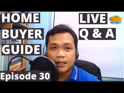 Home Buyer Guide Episode 30 Live Q & A, Oct 24, 2020 | Tips on Buying a House Philippines