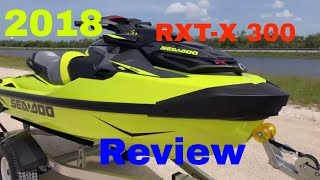 2. 2018 New Sea-Doo RXT-X 300 Review