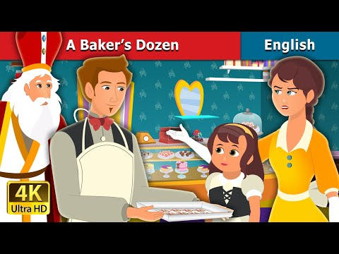 A Baker's Dozen Story in English | Stories for Teenagers | English Fairy Tales