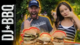 Rad Beef, Pork and Lamb Sliders³  | Amber Kelley & DJ BBQ by DJ BBQ