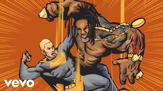Busta Rhymes - Calm Down (Lyric Video) (Clean) ft. Eminem