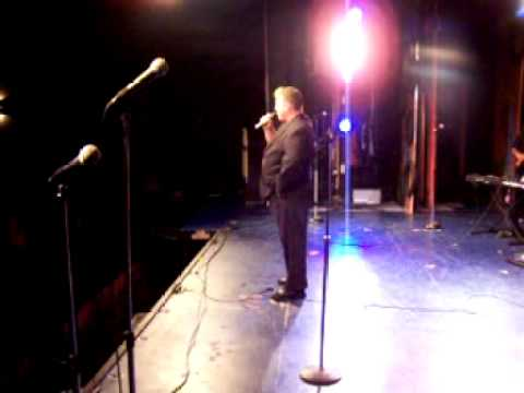 Comedian Christopher Cowles Live on Stage