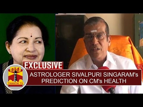 Astrologer-Sivalpuri-Singarams-Prediction-on-TN-CM-Jayalalithaas-Health-Condition-Thanthi-TV