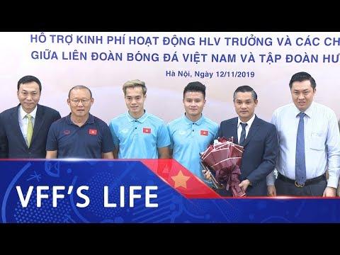 Tập đoàn Hưng Thịnh hỗ trợ kinh phí hoạt động cho đội ngũ HLV của ĐTVN