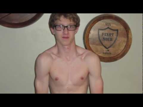 P90x Transformation (Skinny Kid)