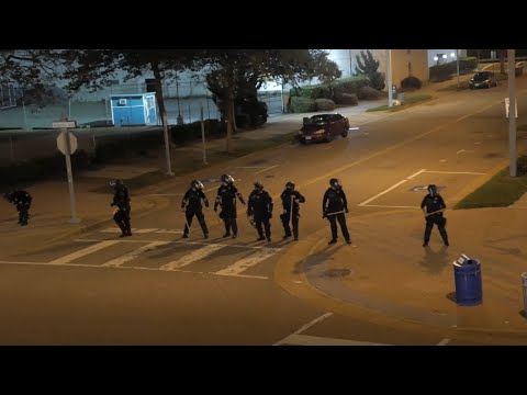 RAW Rooftop Footage of the Oceanfront Riots in Virginia Beach, Virginia