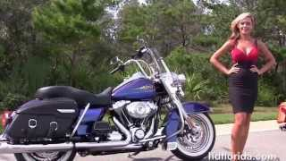 3. Used 2009 Harley Davidson Road King Classic in Pensacola Florida