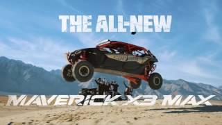 8. Can-Am Maverick X3 MAX - Launch Video