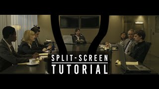Video INVISIBLE SPLIT-SCREEN TUTORIAL (The David Fincher Technique) MP3, 3GP, MP4, WEBM, AVI, FLV November 2018