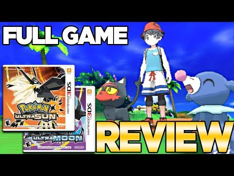 Pokemon Ultra Sun and Moon Full Game Review | Austin John Plays (видео)