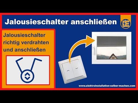 Pogledajte Jalousie Schalter Anschließen Rollladen Schaltung