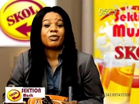 Lolo MUTIMA au journal Télévisé d'Antenne A - parle d'Alain MOLOTO et de Beyou Ciel