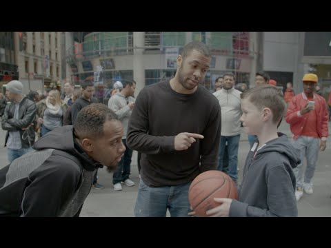 Surprise Pickup Basketball Prank in NYC | BdotAdot5 & Scooter Magruder