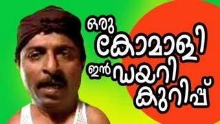 Malayalam Super Hit Comedy Oru Komali in Diary Kurippu | Malayalam New Comedy