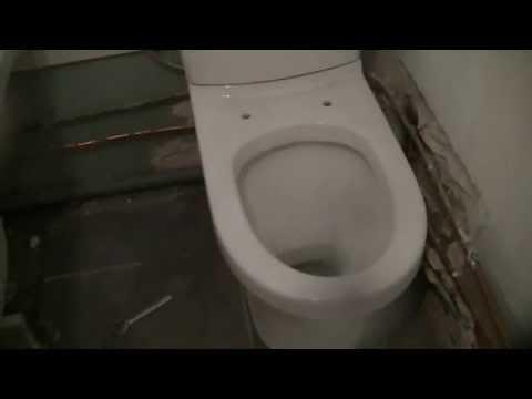 comment poser un wc a sortie horizontale