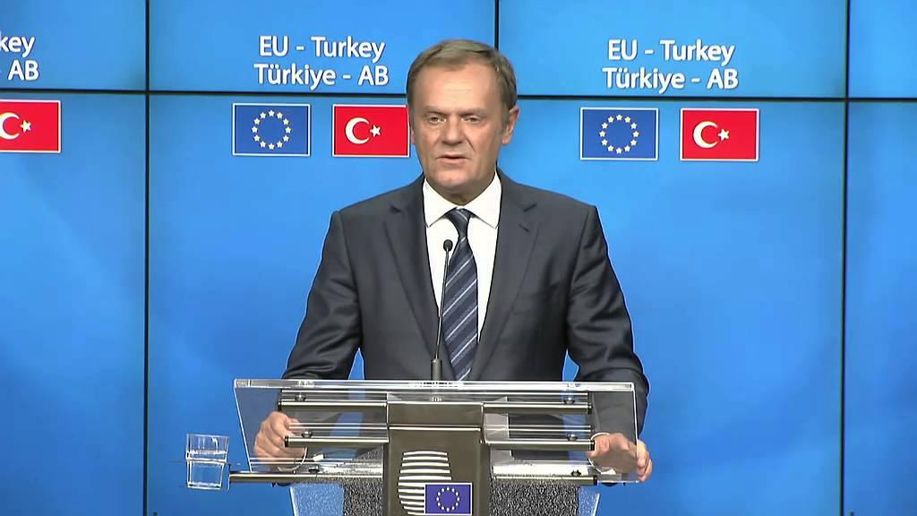 Συνέντευξη Τύπου μετά την ολοκλήρωση της Συνόδου Ε.Ε. – Τουρκίας (1ο μέρος)